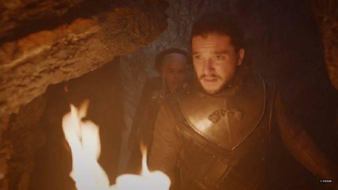 game of thrones 7x04 jon snow daenerys targaryen