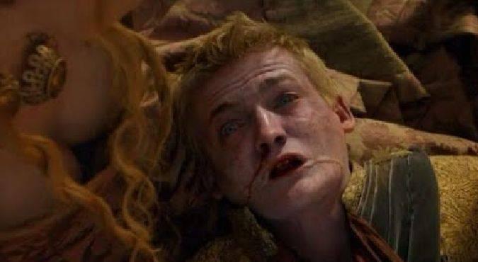 game of thrones joffrey muerte veneno /></div>  Joffrey fue envenenado el día de su boda (Foto: <span class=