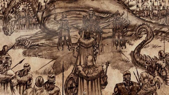 Torrhen Stark aegon el conquistador game of thrones