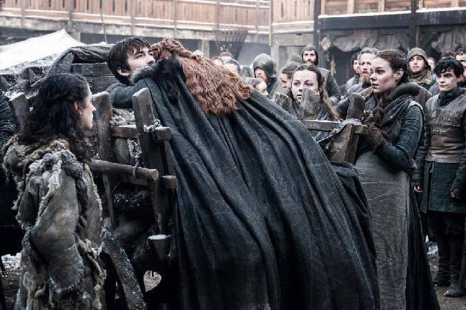 game of thrones bran stark sansa