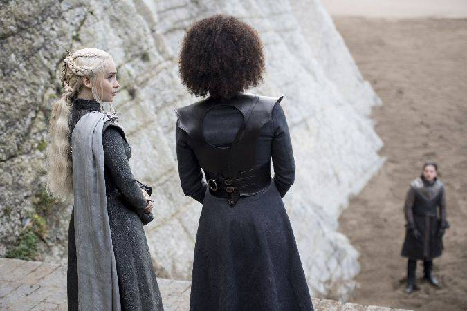 game of thrones 7x04 jon snow daenerys targaryen missandei