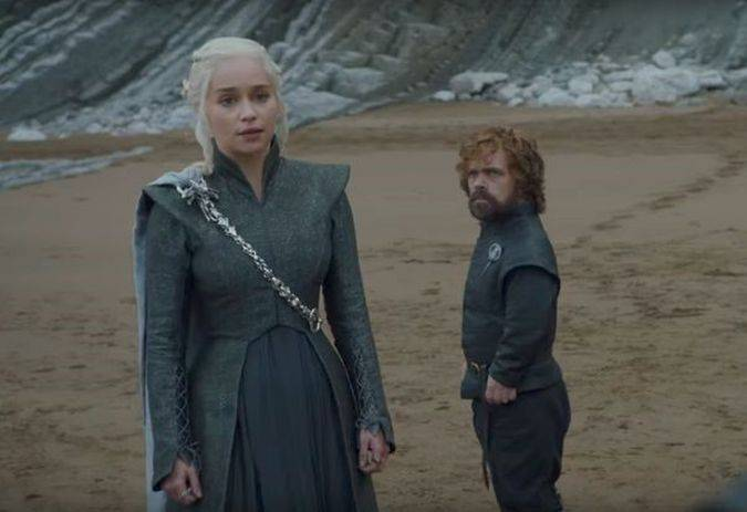 game of thrones daenerys targaryen tyrion lannister