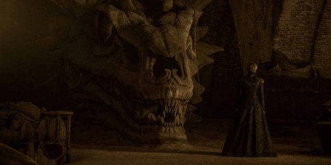game of thrones cersei craneo dragon