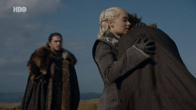 game of thrones 7x05 jon snow daenerys targaryen jorah mormont