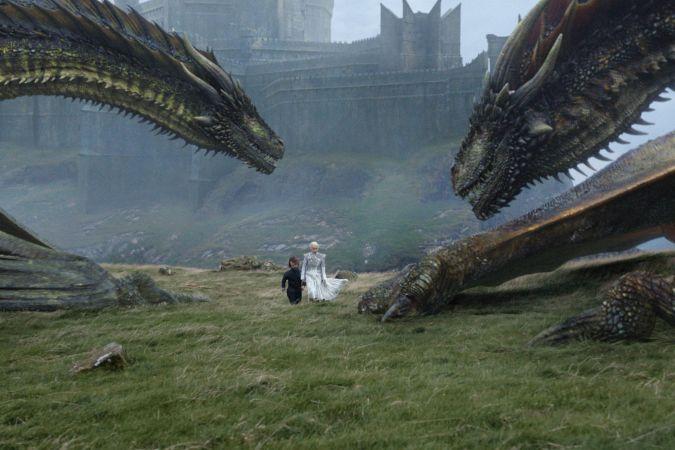 game of thrones 7x06 daenerys dragones