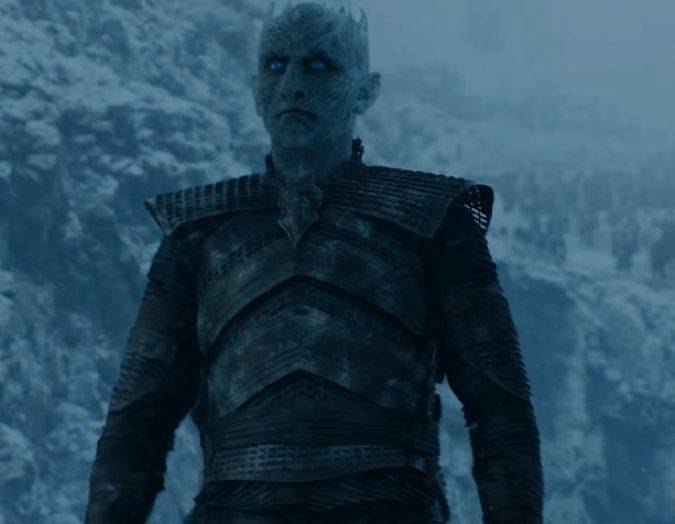 game of thrones 7x06 white walkers rey noche nights king