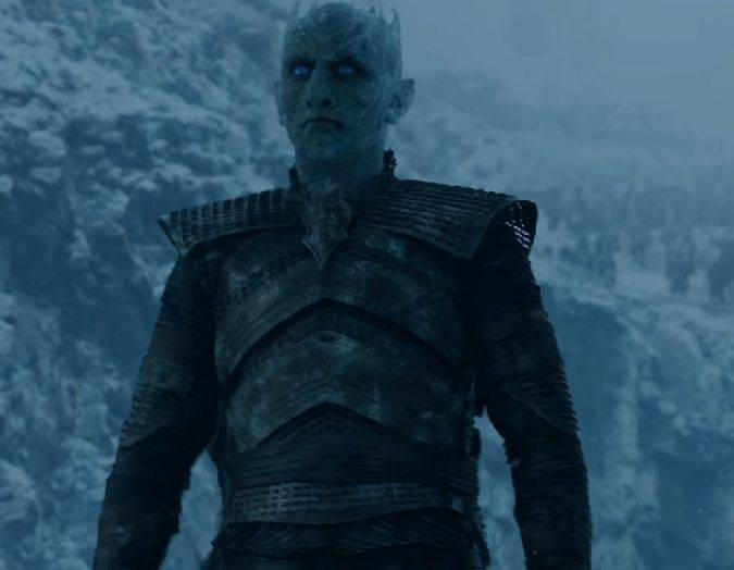 game of thrones 7x06 rey noche white walkers