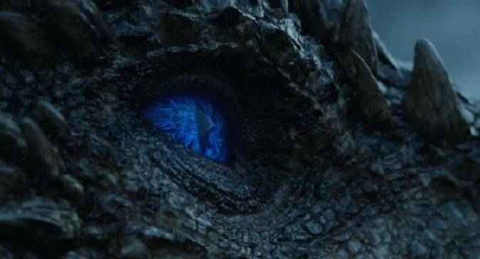 game of thrones 7x06 viserion dragon hielo zombi