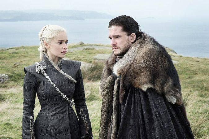 game of thrones daenerys targaryen jon snow