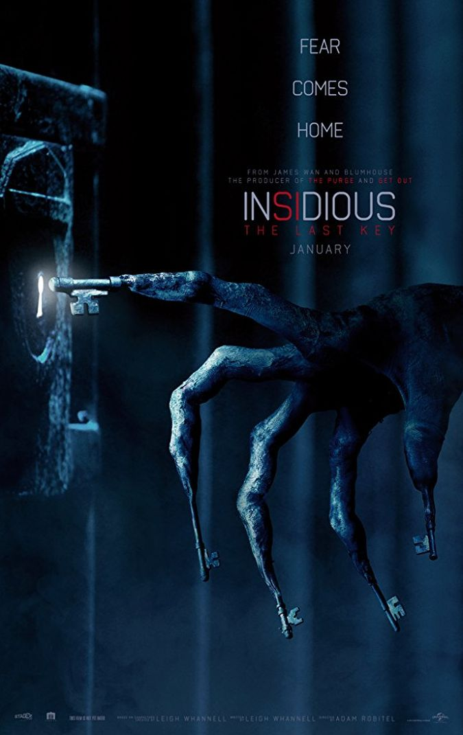 Insidious 4 The Last Key poster