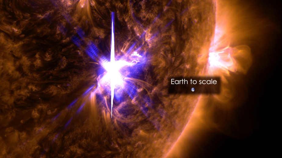 llamarada solar,NASA