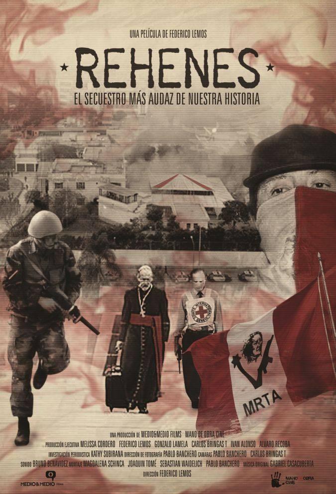 rehenes poster