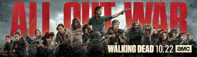 the walking dead temporada 8 key art arte