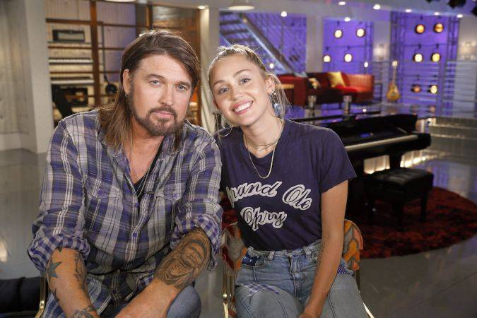 the voice miley cyrus Billy Rae Cyrus