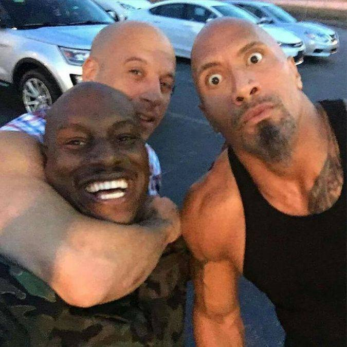 fast and furious the rock vin diesel tyrese gibson