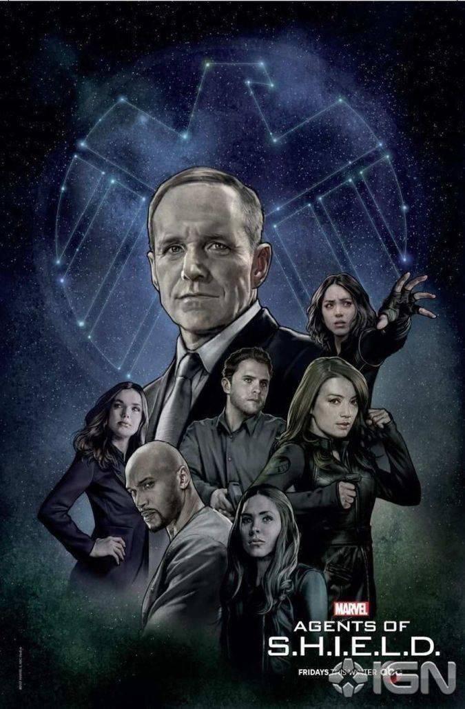 agents of shield temporada 5 poster new york comic con