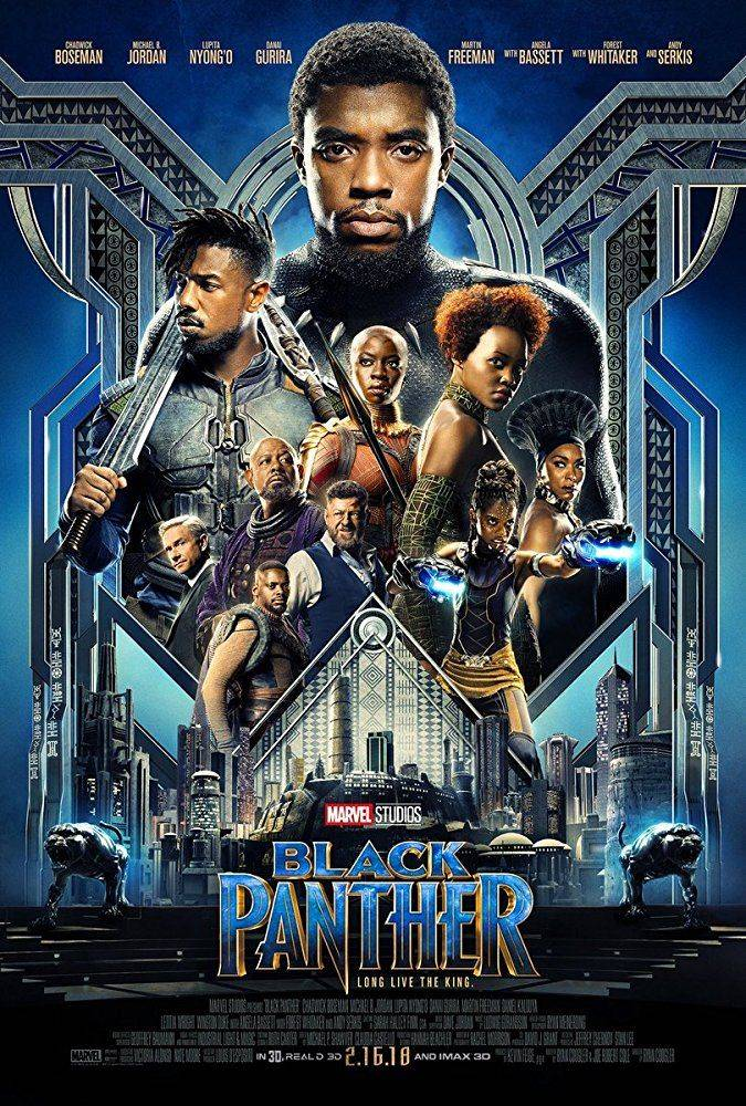 black panther nuevo poster marvel