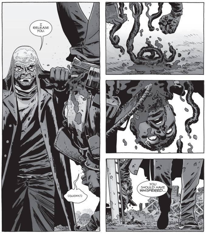the walking dead padre gabriel muerte comic