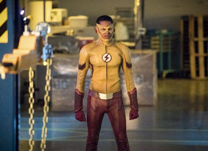 the flash 4x03 kid flash