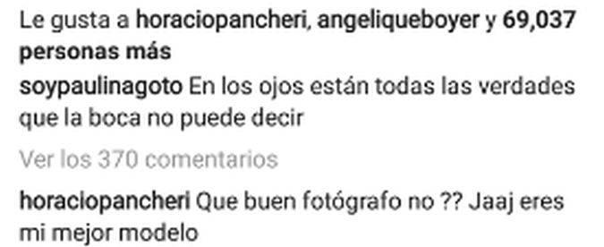 Paulina Goto posa en topless para Horacio Pancheri