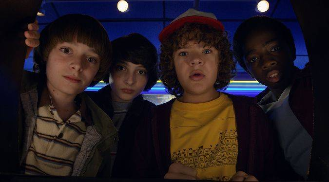 stranger things temporada 2 niños
