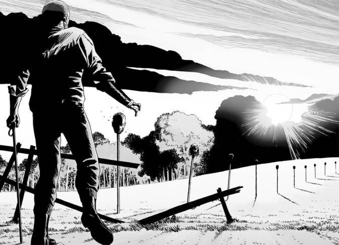 the walking dead comic rey ezekiel muerte alpha susurradores