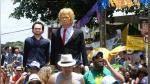 Donald Trump, el 'engreído' del carnaval de Olinda en Brasil - Noticias de david bowie