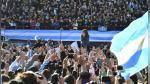 Argentina: Cristina Fernández reaparece y lanza nueva coalición política - Noticias de daniel scioli