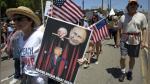 Donald Trump: miles marchan en EEUU para pedir su destitución - Noticias de mike lee