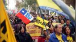 Chile: miles marcharon en Santiago para exigir el fin de las AFP - Noticias de anibal calle