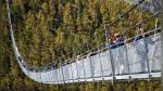 Europabruecke: así se inauguró el puente peatonal colgante más largo del mundo - Noticias de puente peatonal