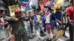 Venezuela: así se realizó la marcha contra Donald Trump en Caracas - Noticias de elecciones en venezuela