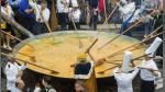 Bélgica: tortilla gigante fue preparada en el festival de Malmedy - Noticias de tortillas