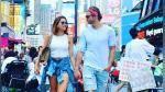Horacio Pancheri y Paulina Goto: abrazados y de la mano conquistan corazones en Nueva York - Noticias de cantante argentino