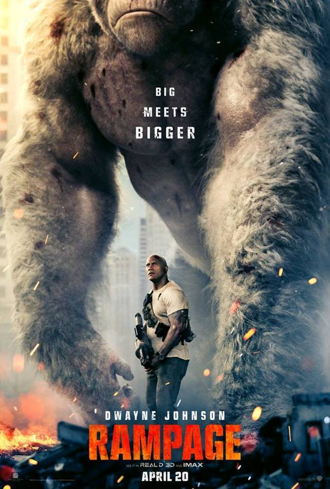 rampage pelicula poster
