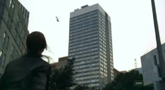the walking dead helicoptero rick