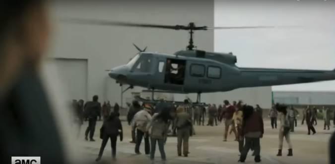 fear the walking dead helicoptero