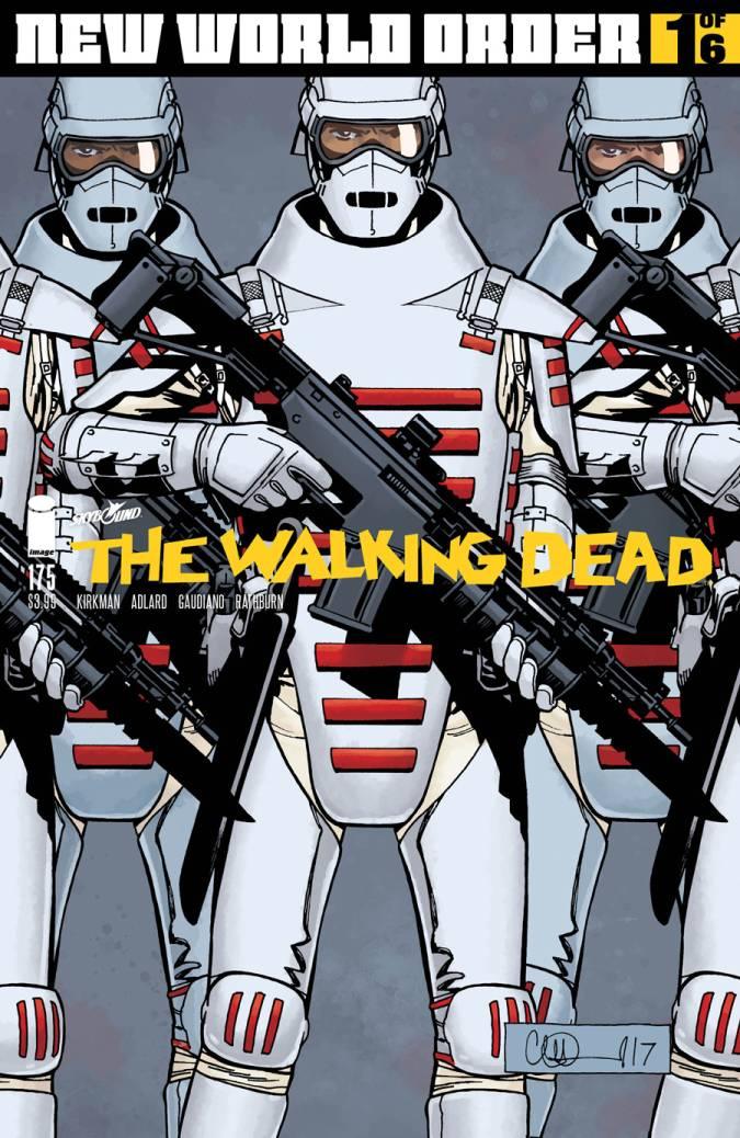 the walking dead 175 portada comic