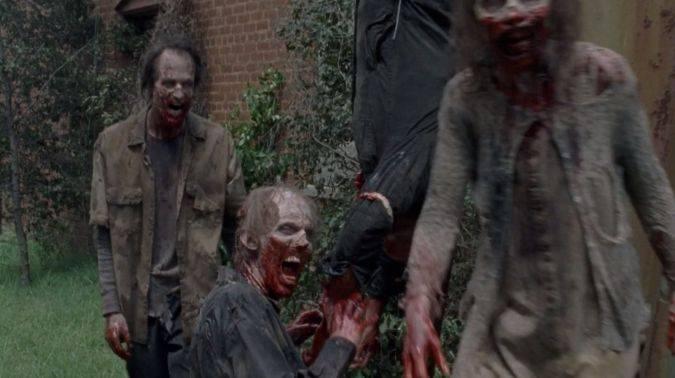 the walking Dead temporada 8 amc gabriel muerte