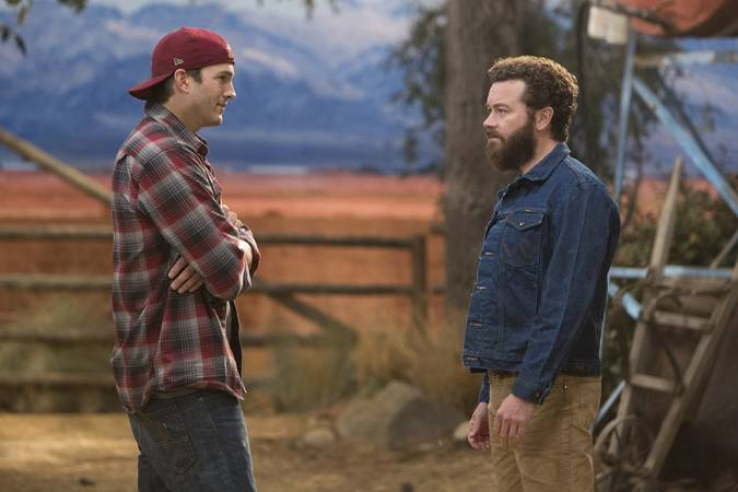the ranch Danny Masterson rooster ashton kutcher