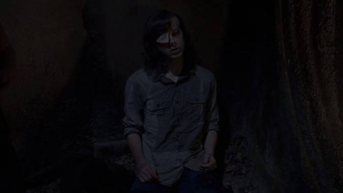 the walking dead 8x08 carl grimes muerte