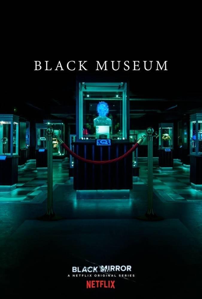black mirror 4x06 blak museum poster