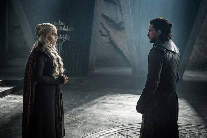 game of thrones temporada 8 final jon snow daenerys targaryen