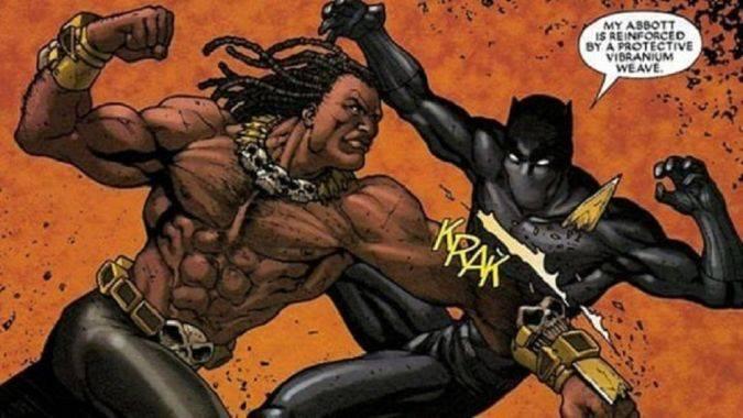Black Panther marvel killmonger