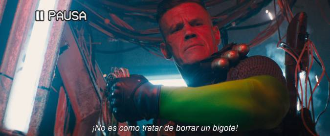 deadpool 2 cable broma justice league