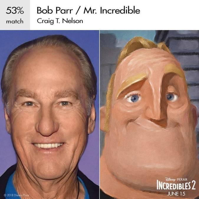 los increibles 2 personajes actores