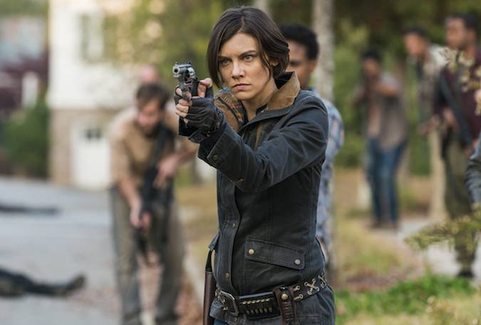 the walking dead maggie greene temporada 8