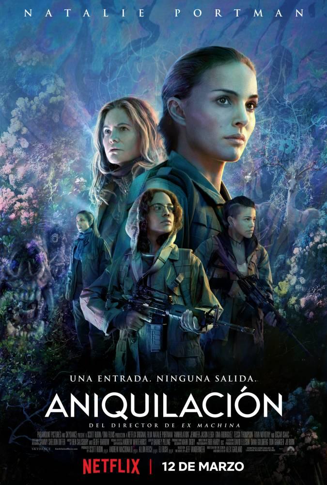 Annihilation poster netflix