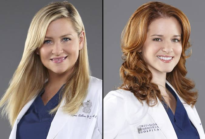 grey's anatomy temporada 14 final sarah drew jessica capshaw arizona april