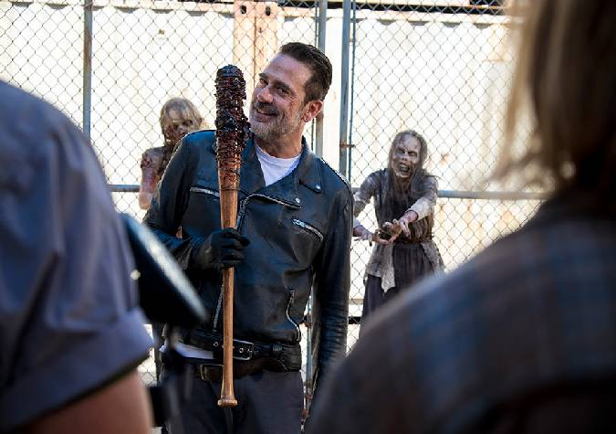 the walking dead 8x11 negan walkers
